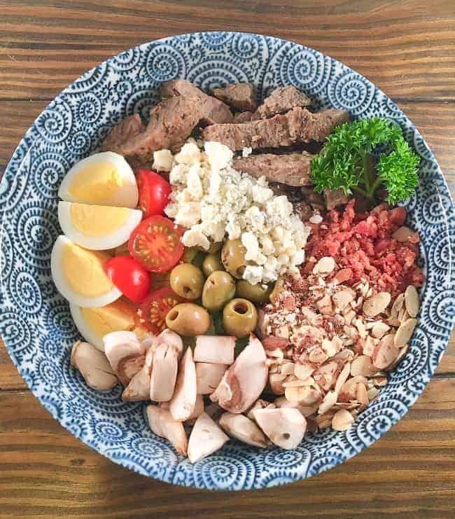 Steak and Blue Cheese Salad mykitchenserenity
