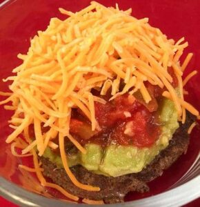 Low Carb Fiesta Burger mykitchenserenity