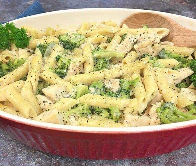 Chicken Broccoli Alfredo with Penne Pasta Recipe