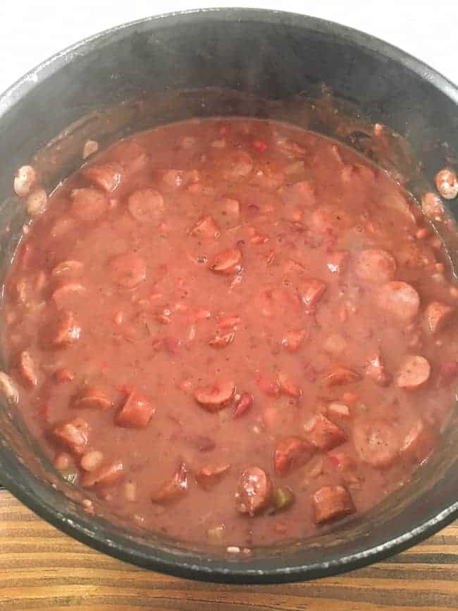Easy Red Beans and Rice with Sausage mykitchenserenity
