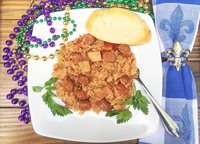 Chicken and Sausage Jambalaya My Kitchen Serenity