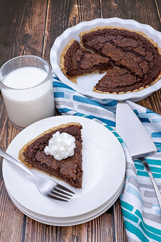 Pie with Whipped Cream Dollop