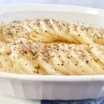 Easy Oven Roasted Parmesan Herb Potatoes lifeloveandblog
