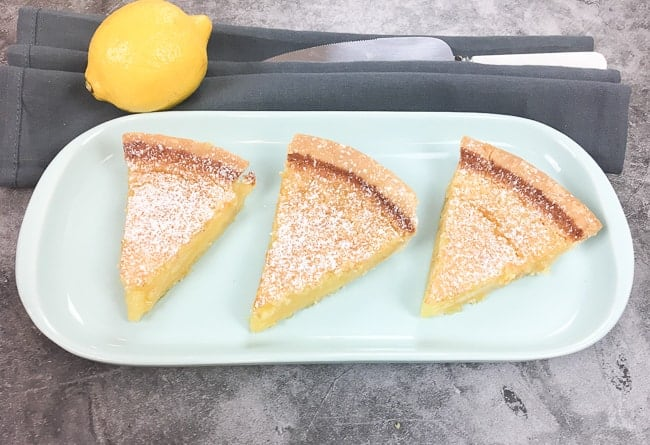 Luscious Lemon Chess Pie