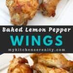 baked lemon pepper wing