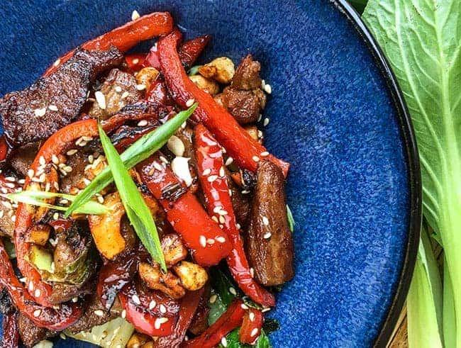 Cashew Pork Stir Fry