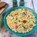 Creamy Corn Salad - My Kitchen Serenity