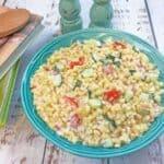 creamy cold corn salad