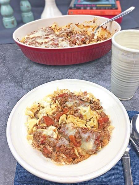 Beef Noodle Casserole
