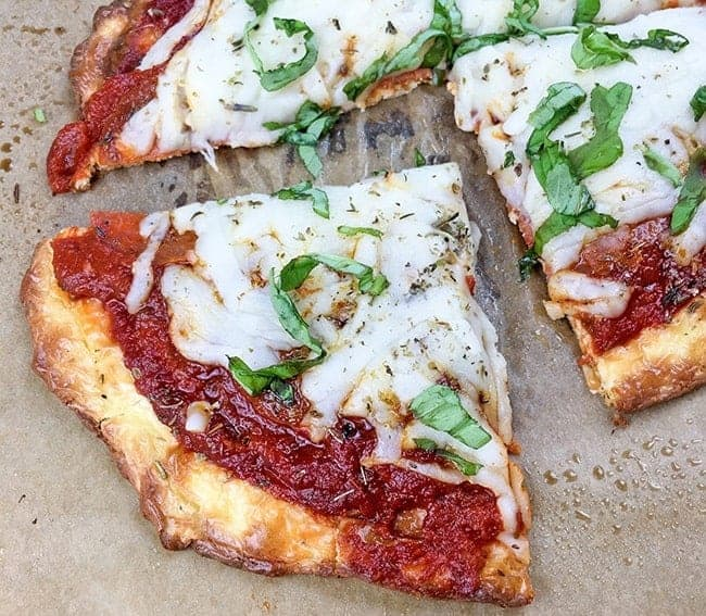 Low Carb Keto Pizza