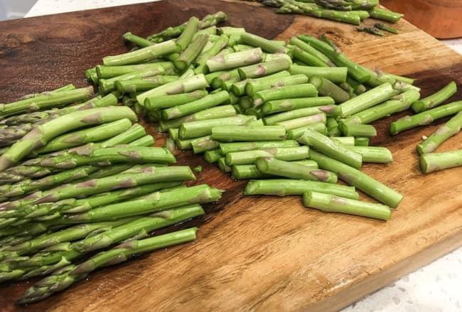 Creamy Asparagus_chopped