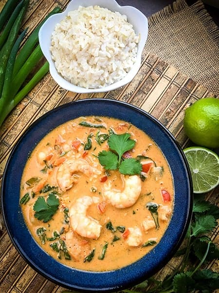Thai Shrimp Coconut Soup