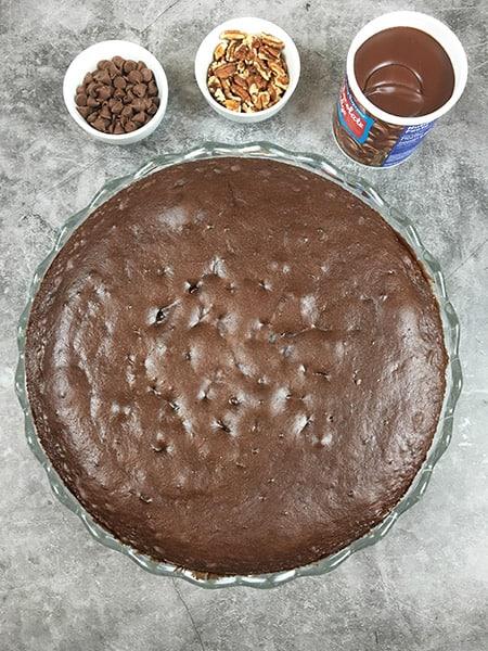 Pecan Pie Caken