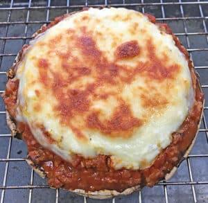 baked lasagna stuffed mushrrom