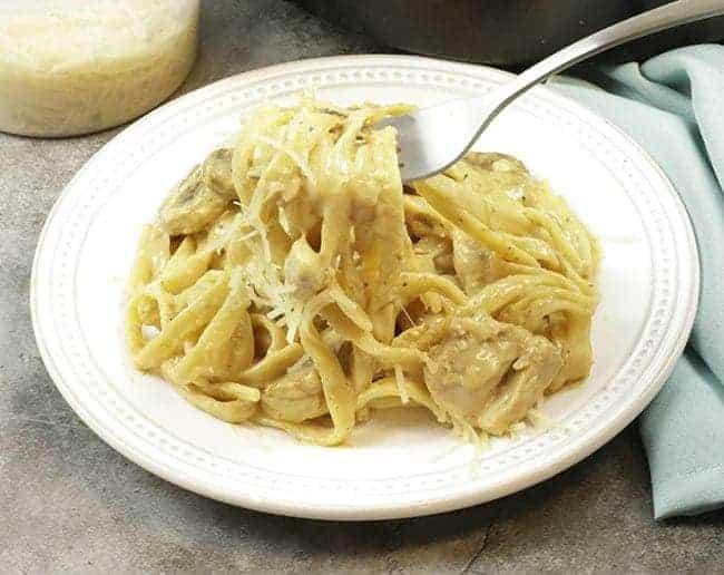 Southern Chicken Tetrazzini