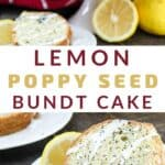 lemon poppy seed cake pinterest pin