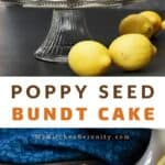 poppy seed cake recipe pin
