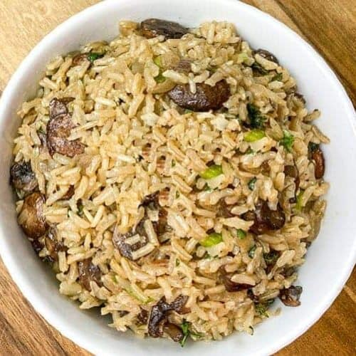 cooked rice in bowl