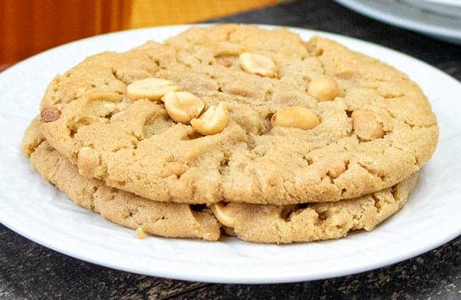Easy Homemade Peanut Butter Cookies