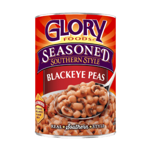 can of Glory blackeye peas