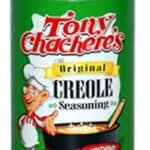 can of Tony Chachere's creole seasoning