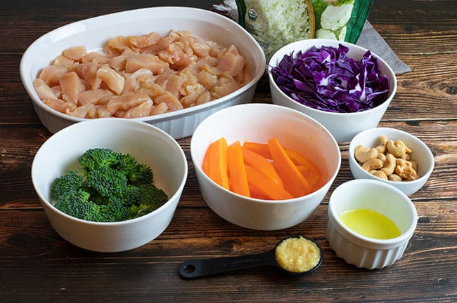 cashew chicken stir fry ingredients