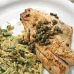 easy red snapper fish recipe pin