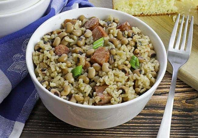 Easy One Pot Hoppin' John