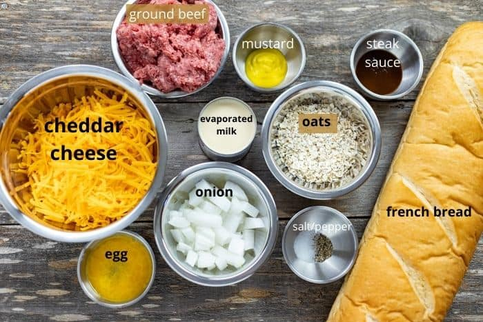 stuffed french bread ingredients
