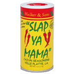 can of Slap Ya Mama cajun seasoning