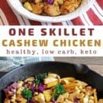 cashew chicken stir fry recipe pin
